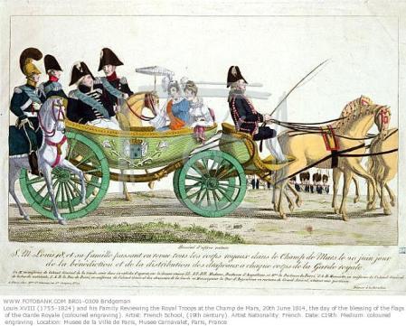 Carriage print Musee de la ville de Paris