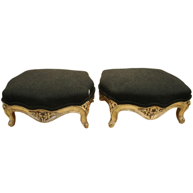 Foot stools Istdibs