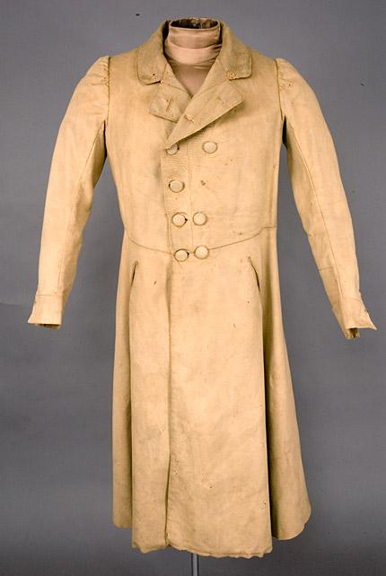 Greatcoat beige wool England 1830-50 Augusta-auctions