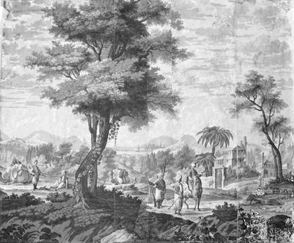 Grisaille c.1816 Joseph Dufour's Turkish scenes