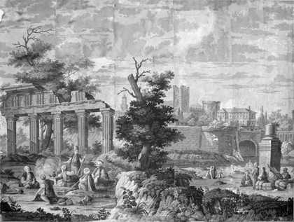 Grisaille  C. 1824