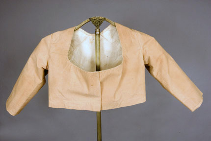 Summer jacket tanFrance c. 1820 augusta-antiques