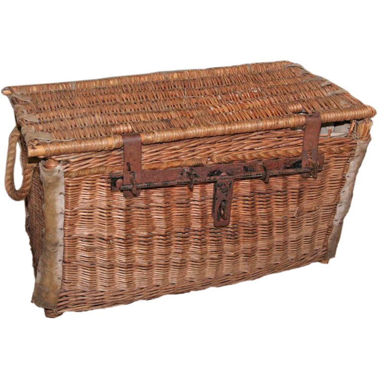 Wicker French 19th dibs