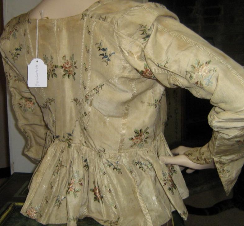 18th century dutch top back close 1