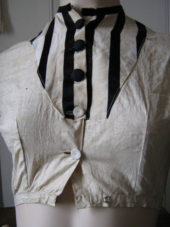 19th c blouse ebay uk.close up