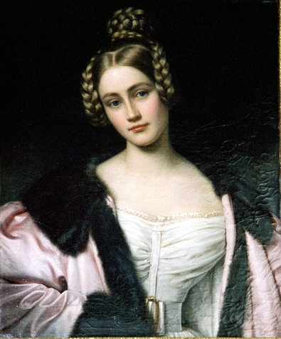 Caroline, Countess of Holnstein 1834