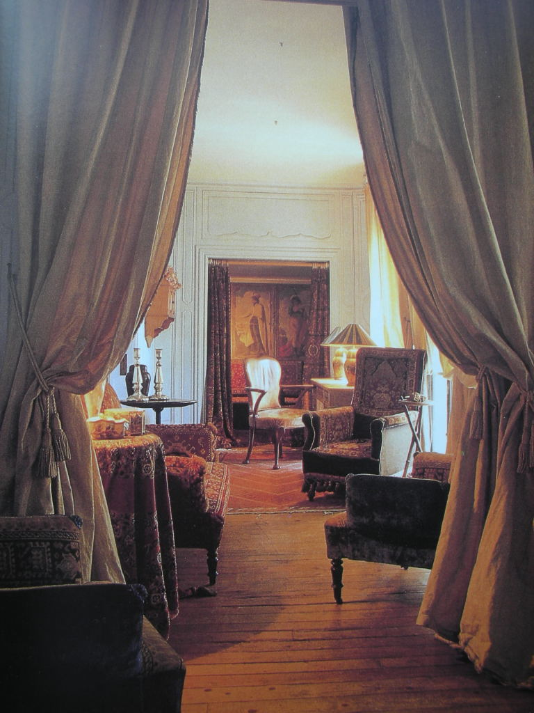 Paris apartment of Isabel Adjani