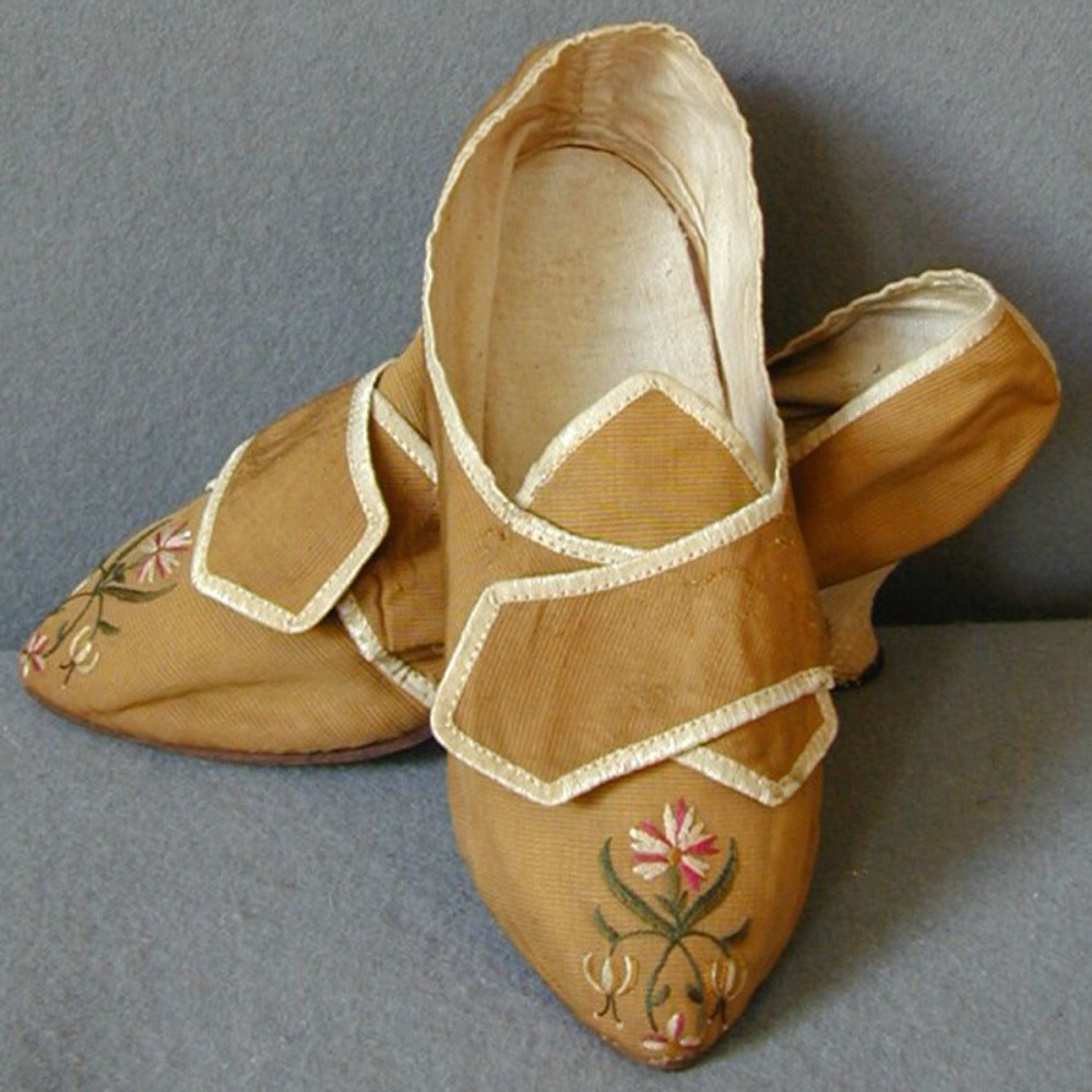 Embroidered Shoes megandrews
