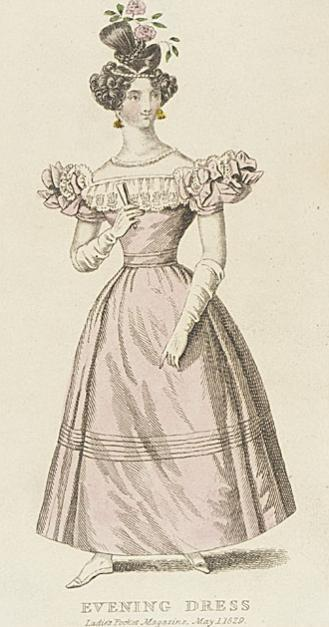Fashion plates London 1829