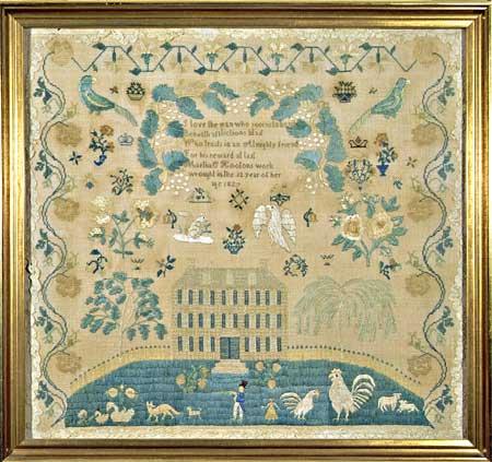 Sampler c 1827 Huber
