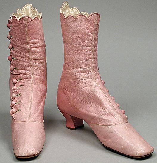 shoes boots 1868 LACMA