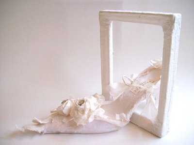 Paperart flower girl shoe 024-1
