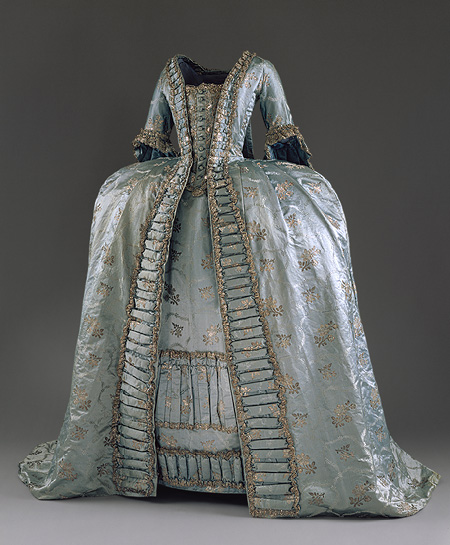 Robe a la Francaise c 1765 French or Austrian Met