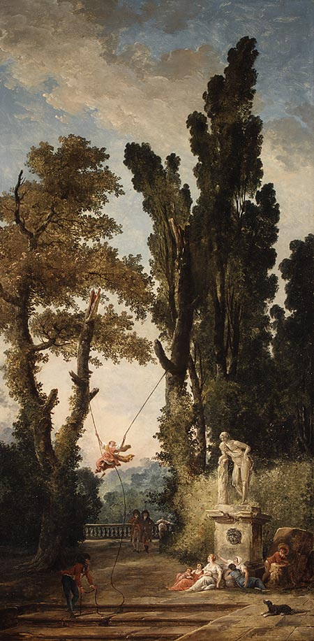 The Swing 1777-1779 Hubert Robert French MET