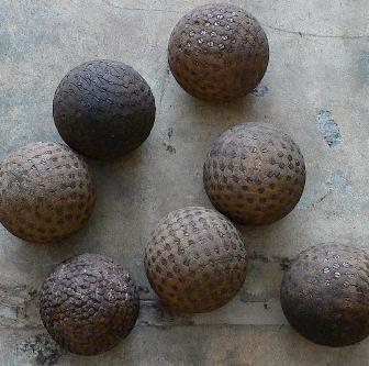 19th century French boule balls