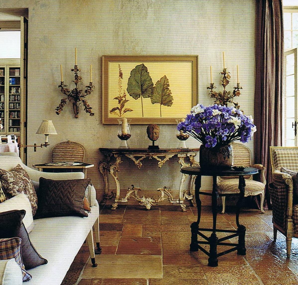 Living Room With Garden: Janet De Botton Voque Living Houses Gardens People.6
