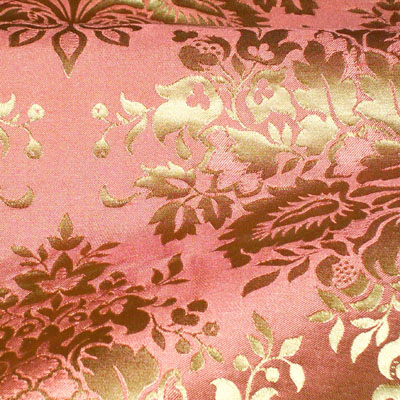 Silk Trading Co Sidonie Damask--Royal Rust