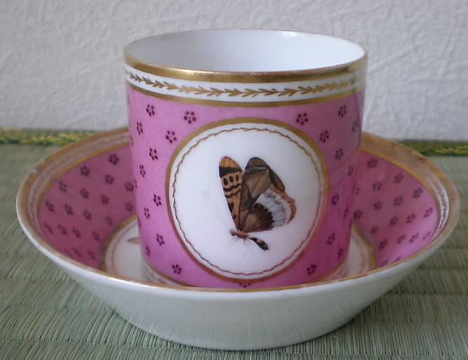 French porcelain c. 1803 Chantilly