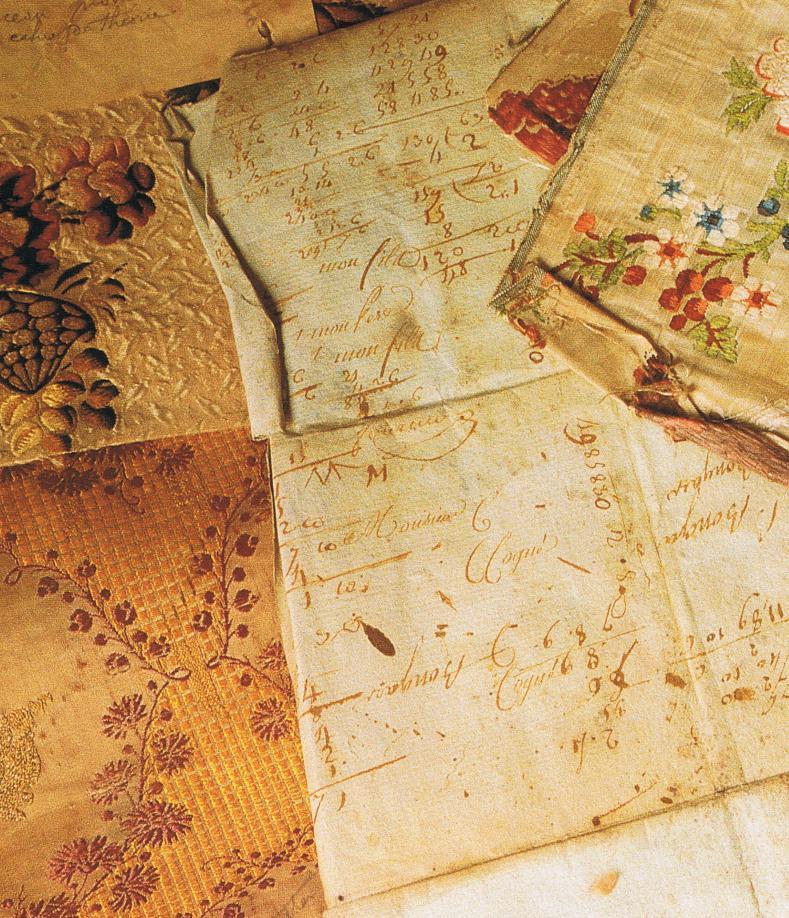 Silk book samples Trouvais