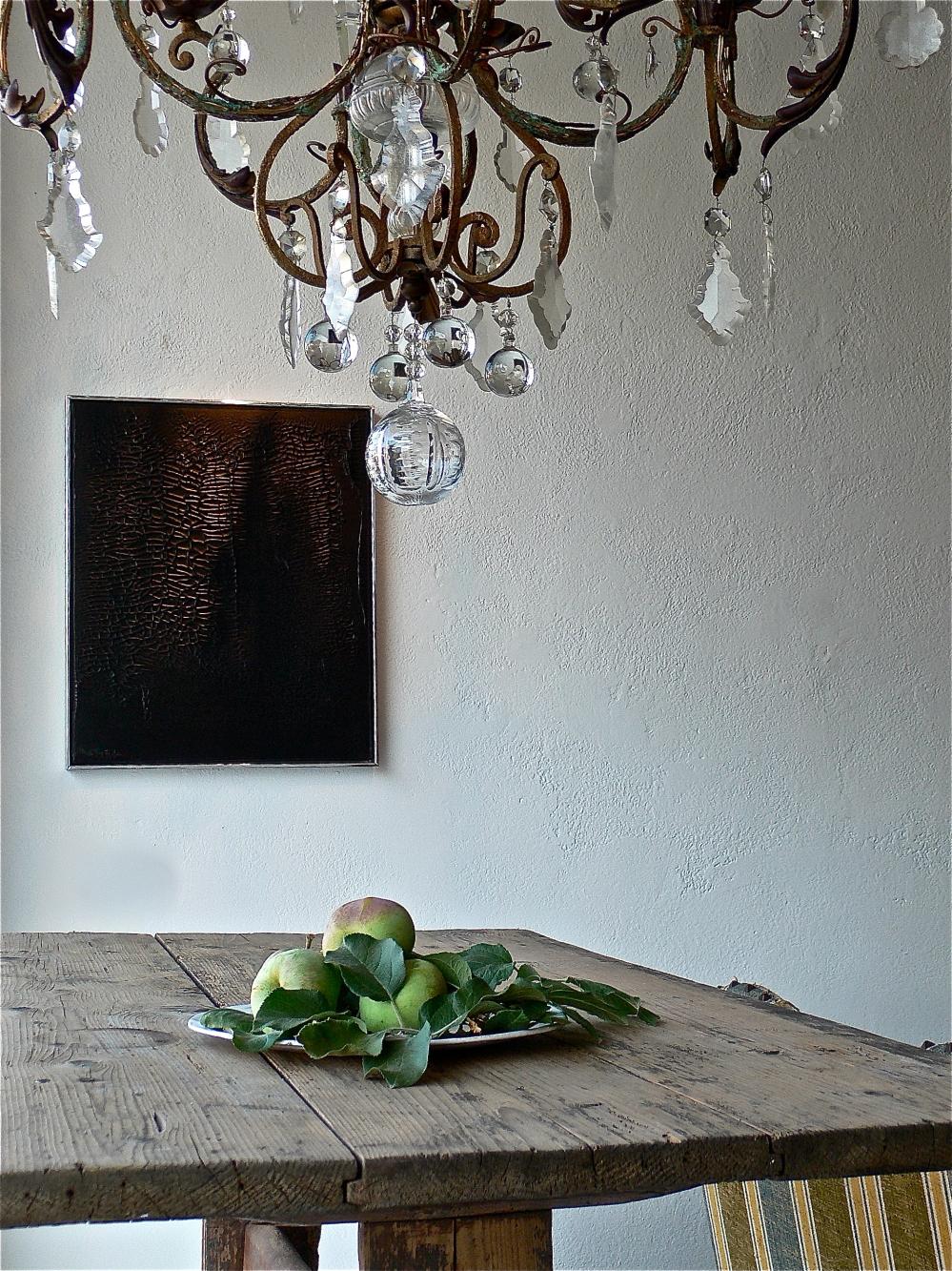 Crystal Belgian chandelier