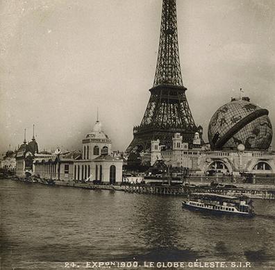 Elise Recluse c. 1900 Paris World Fair