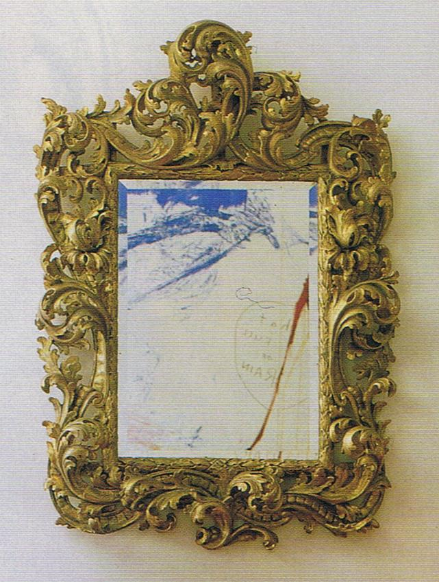 Gilded French Rococo Frame