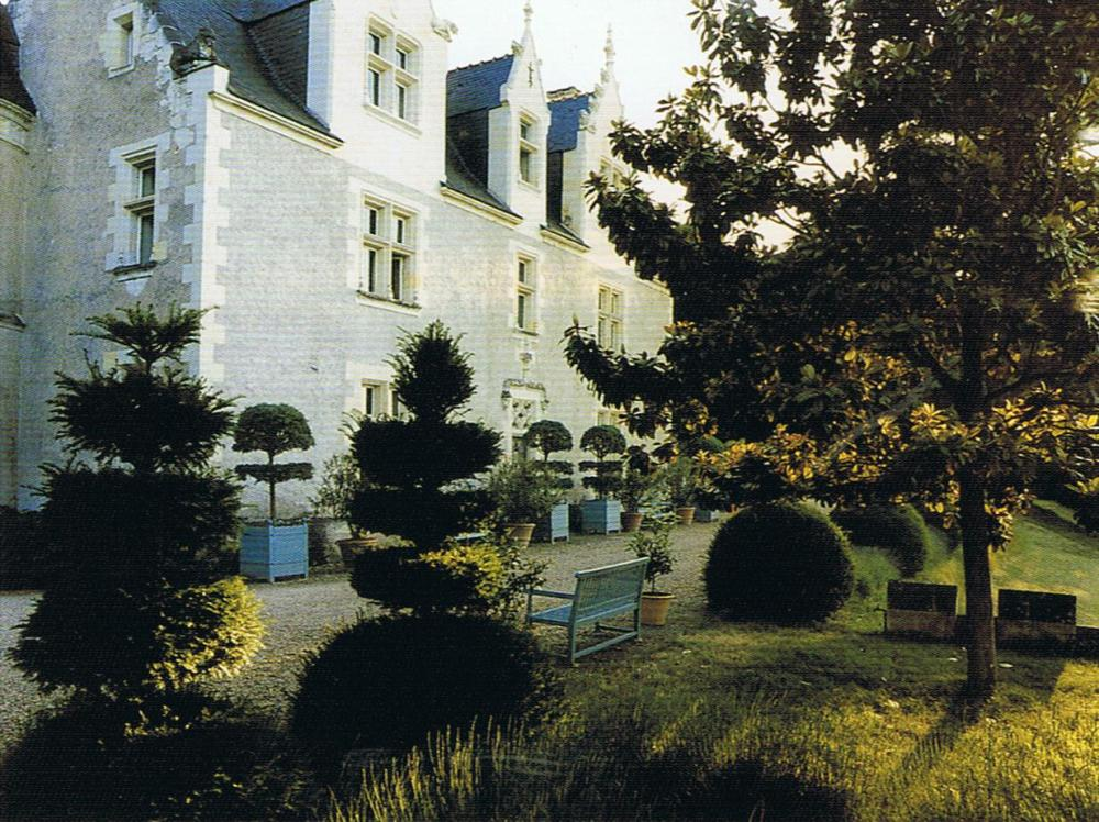 French Chateau in Loire Valley