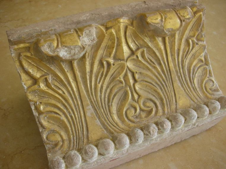 Architectural salvage from Provence church