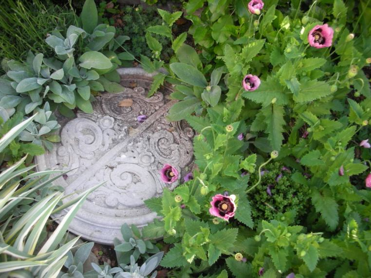 Architectural Salvage in the garden