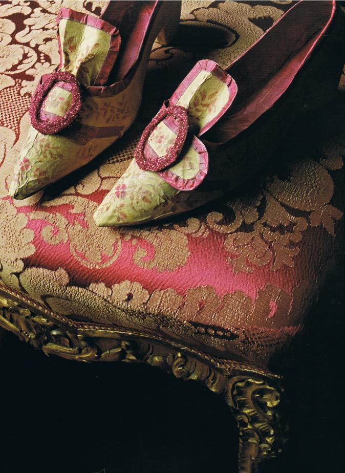 18th century French shoes