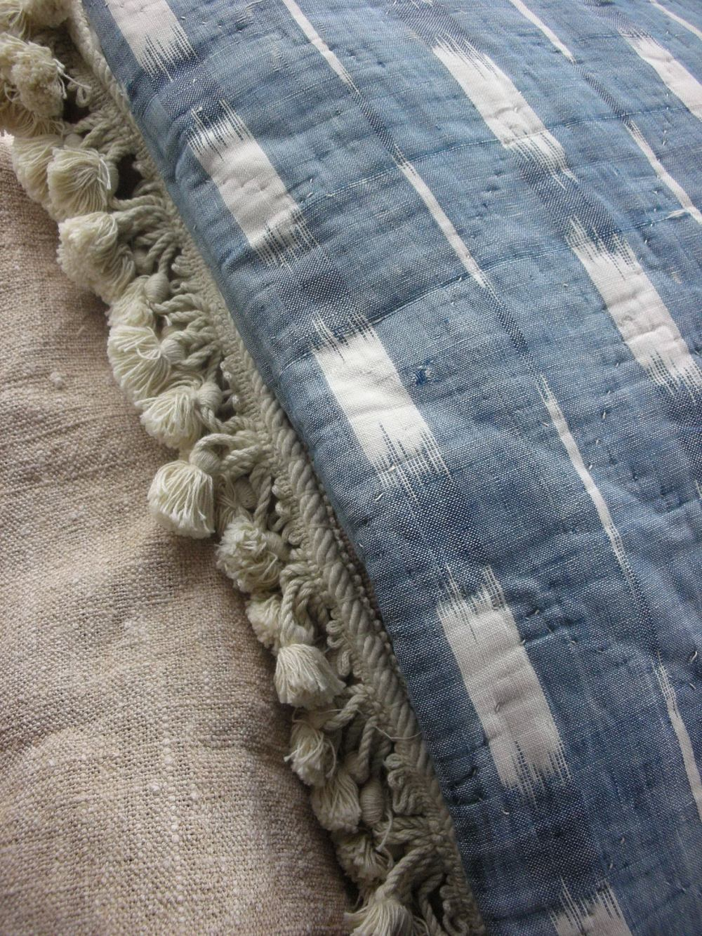Antique French Ikat 18th century