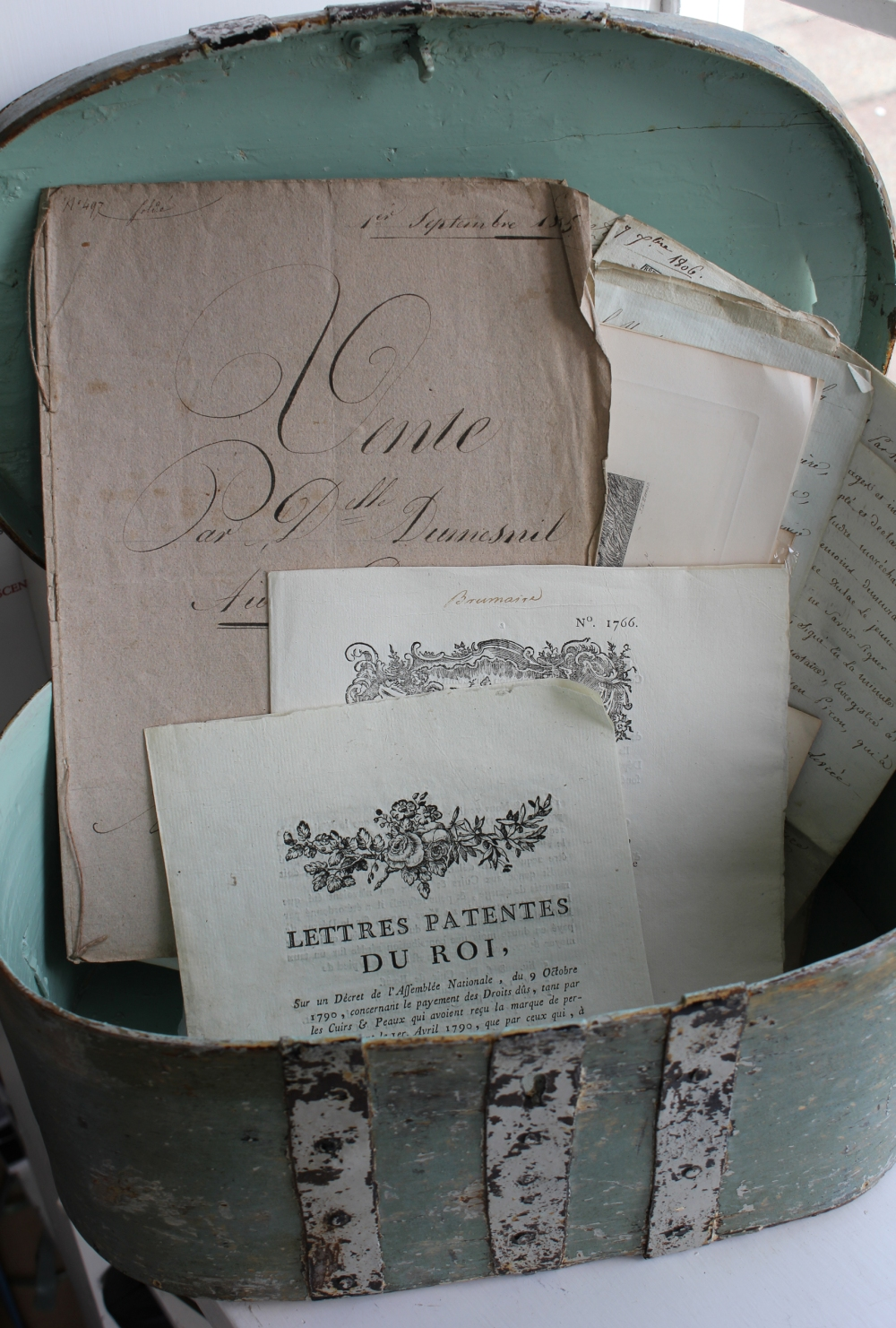 Antique Swedish box