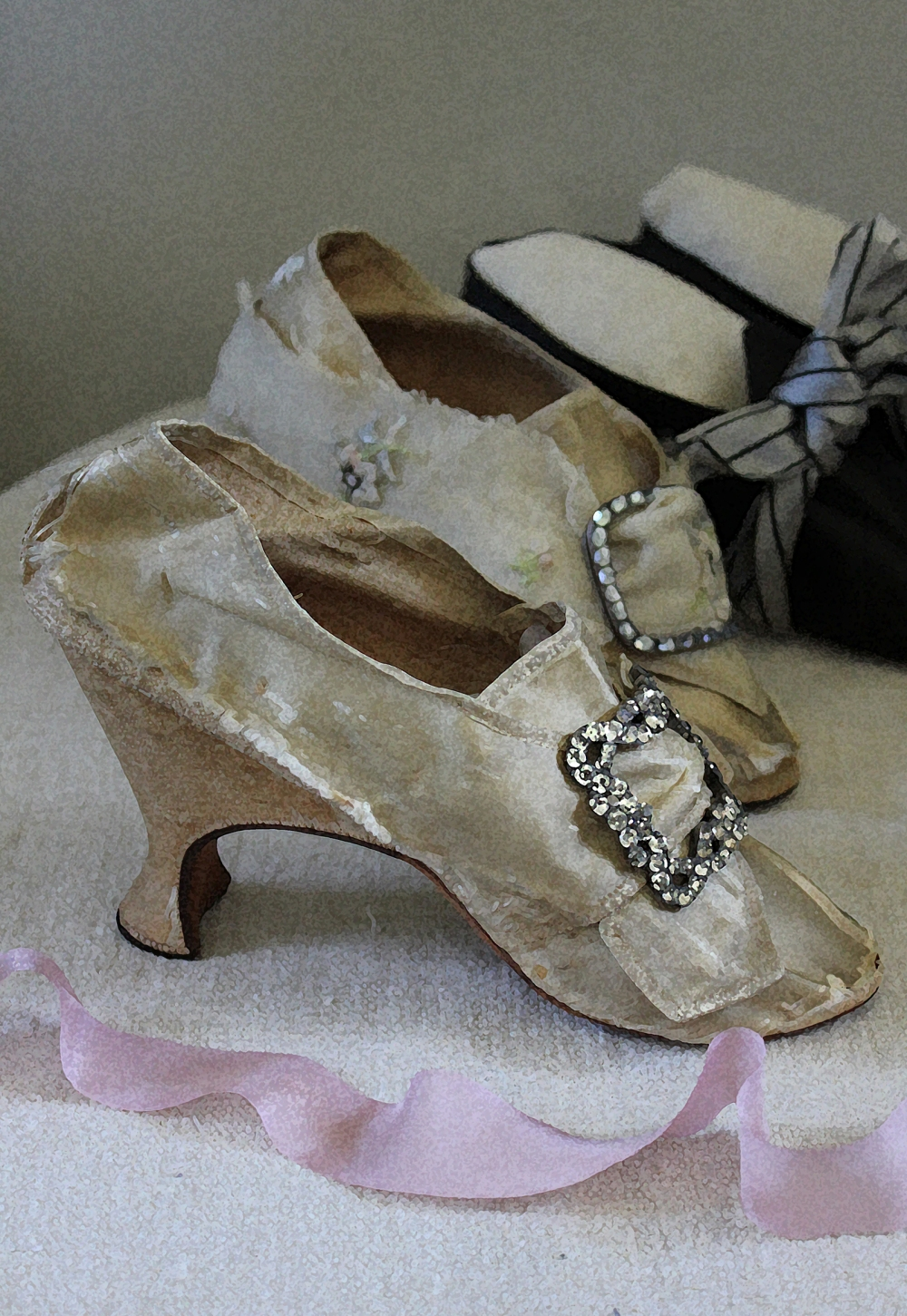 antique shoes
