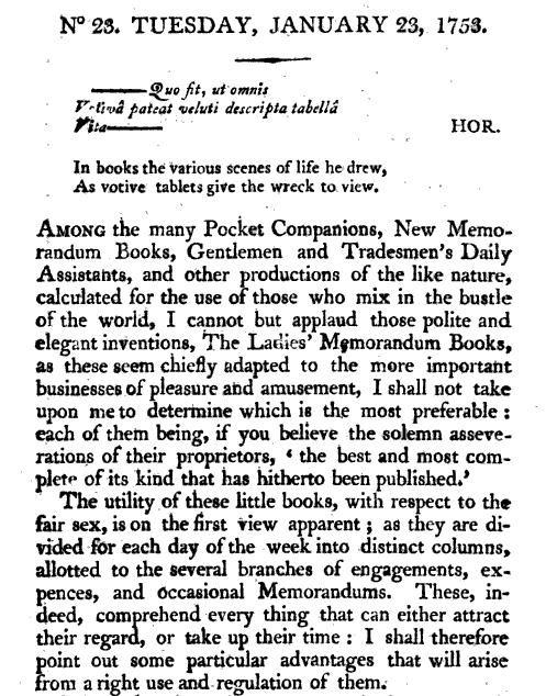 antique text