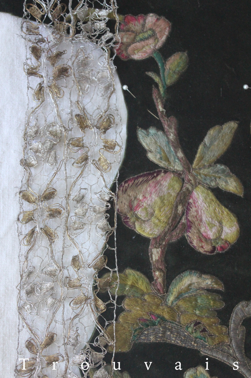 Early 18th c embroidery