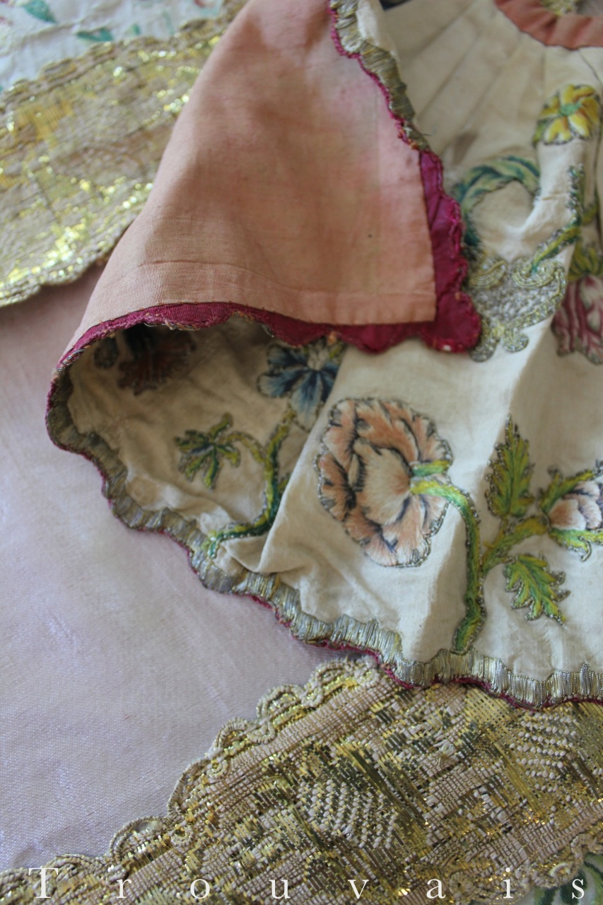 Trouvais Textiles Early embroidery