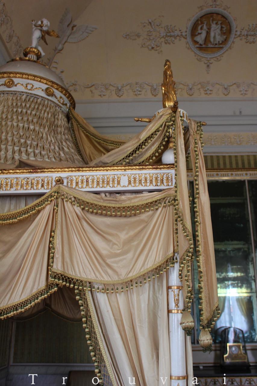 Trouvais Villa Pisani Napoleon's bed